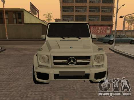 Mercedes-Benz G65 AMG Armenian for GTA San Andreas left view