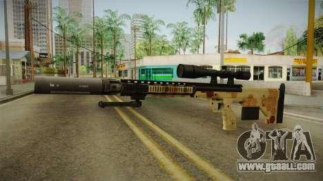 DesertTech Weapon 1 Camo Silenced for GTA San Andreas second screenshot