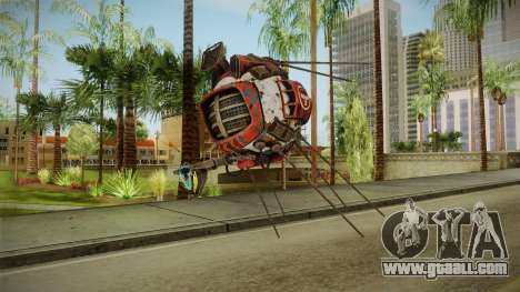 Fallout New Vegas DLC Lonesome Road - ED-E v3 for GTA San Andreas