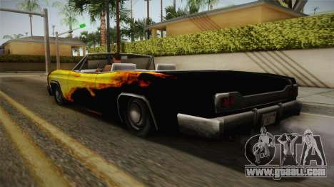 3 New Paintjobs for Blade for GTA San Andreas inner view