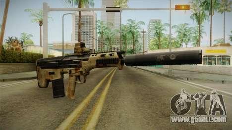 DesertTech Weapon 2 Camo Silenced for GTA San Andreas second screenshot