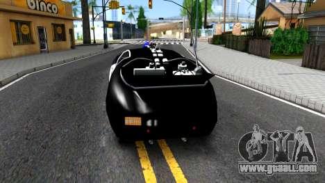 Alien Police San Fierro for GTA San Andreas back left view