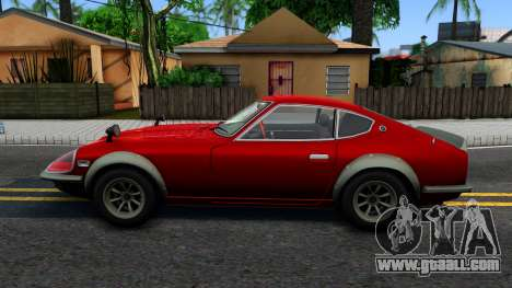 Nissan Fairlady Z for GTA San Andreas left view