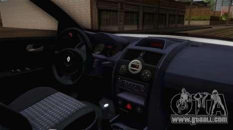 Renault Megane Hatchback v1.1 for GTA San Andreas inner view