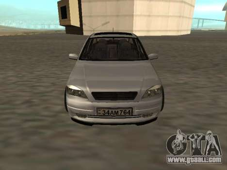 Opel Astra G Armenian for GTA San Andreas back left view