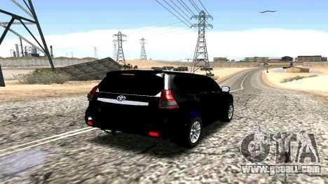 Toyota Land Cruiser Prado 150 2016 for GTA San Andreas