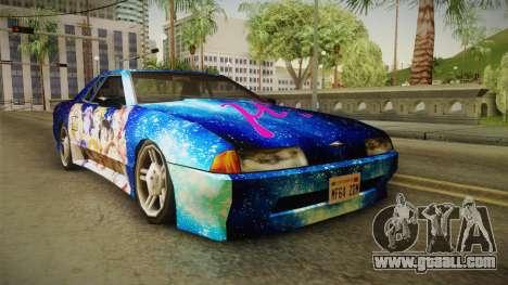 Lovelive Elegy Itasha for GTA San Andreas right view