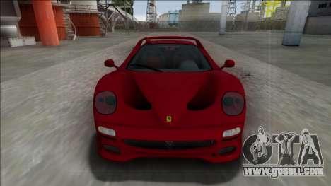 Ferrari F50 FBI for GTA San Andreas right view