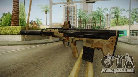 DesertTech Weapon 2 Camo Silenced for GTA San Andreas third screenshot
