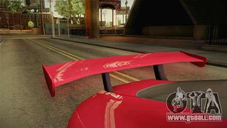 GTA 5 Dewbauchee Specter Custom IVF for GTA San Andreas inner view