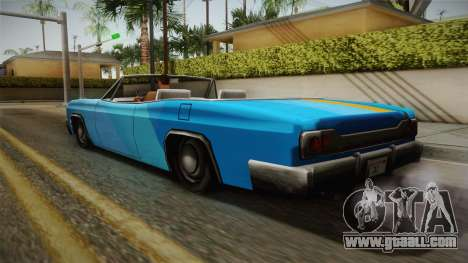 3 New Paintjobs for Blade for GTA San Andreas left view