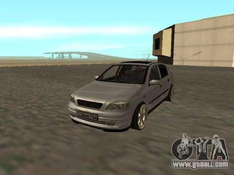 Opel Astra G Armenian for GTA San Andreas