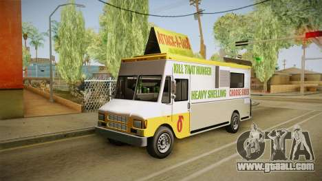 GTA 5 Brute Taco Van IVF for GTA San Andreas