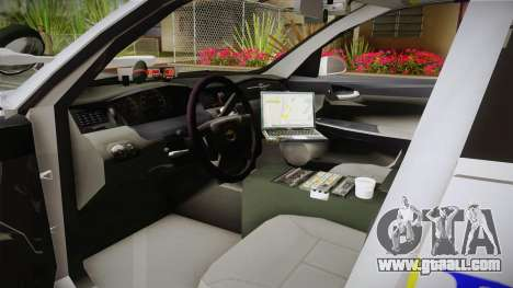 Chevrolet Impala Police Malaysia for GTA San Andreas right view