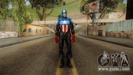 Marvel Future Fight - Winter Soldier (CA) for GTA San Andreas second screenshot