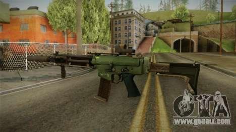 Battlefield 4 - AK-5C for GTA San Andreas second screenshot