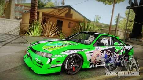 Nissan Silvia S14 Drift Speedhunters Saekano for GTA San Andreas