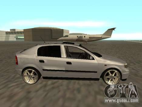 Opel Astra G Armenian for GTA San Andreas left view