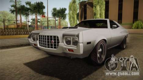 Ford Gran Torino 1972 for GTA San Andreas back left view