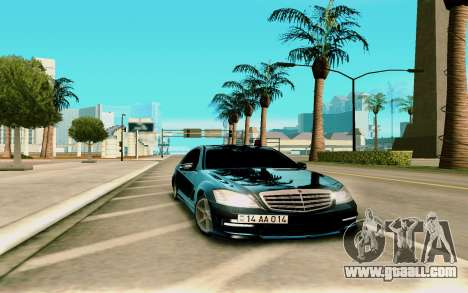 Mersedes-Benz S-class W221 for GTA San Andreas
