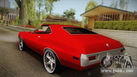 Ford Gran Torino 1972 for GTA San Andreas left view