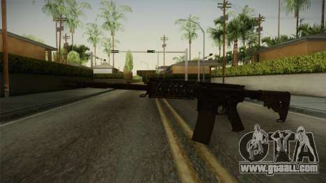 CoD 4: MW - M4A1 Remastered v3 for GTA San Andreas second screenshot
