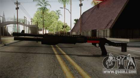 Remington 870 Silver for GTA San Andreas