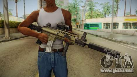 M4 v1 for GTA San Andreas third screenshot