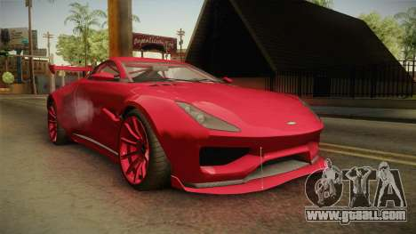 GTA 5 Dewbauchee Specter Custom IVF for GTA San Andreas right view
