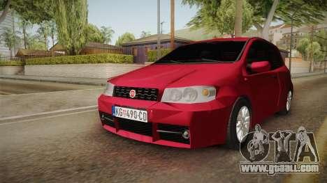 Fiat Punto Mk2 for GTA San Andreas right view