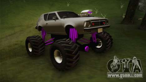 AMC Gremlin X 1973 Monster Truck for GTA San Andreas right view
