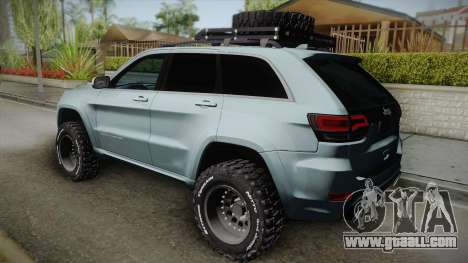 Jeep Grand Cherokee SRT Lifted for GTA San Andreas left view