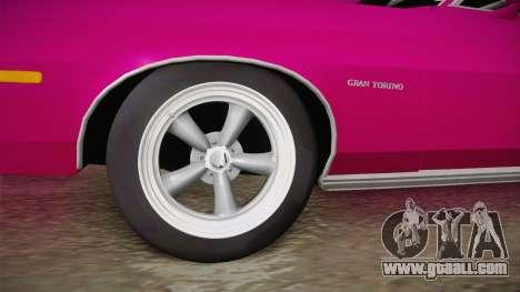 Ford Gran Torino 1975 Drag for GTA San Andreas back view