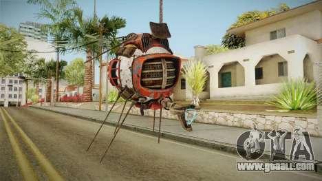 Fallout New Vegas DLC Lonesome Road - ED-E v3 for GTA San Andreas second screenshot