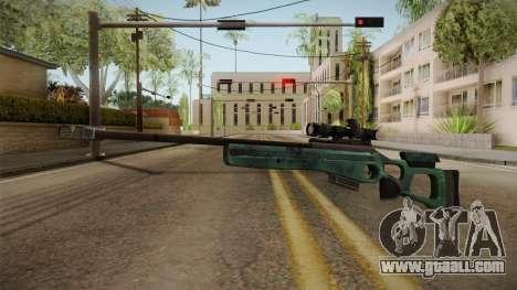 Battlefield 4 - SV-98 for GTA San Andreas second screenshot