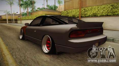 Nissan 240SX Rat Stance for GTA San Andreas back left view