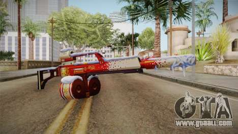 Vindi Xmas Weapon 5 for GTA San Andreas