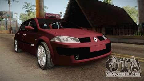 Renault Megane Hatchback v1.1 for GTA San Andreas right view