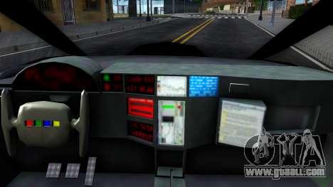 Alien Police San Fierro for GTA San Andreas inner view