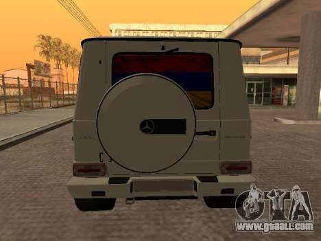 Mercedes-Benz G65 AMG Armenian for GTA San Andreas right view