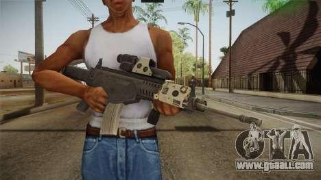 ARX-160 Tactical v3 for GTA San Andreas