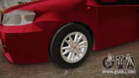 Fiat Punto Mk2 for GTA San Andreas back view