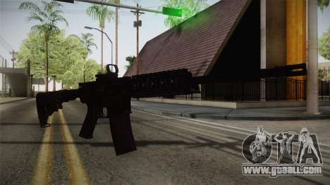 CoD 4: MW - M4A1 Remastered v2 for GTA San Andreas second screenshot