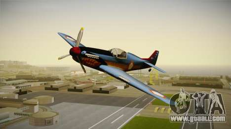 Rustler Indonesian Air Force v1 for GTA San Andreas