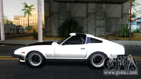 Nissan 280ZX Transformers G1 Bluestreak for GTA San Andreas left view