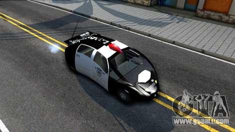 Alien Police San Fierro for GTA San Andreas right view