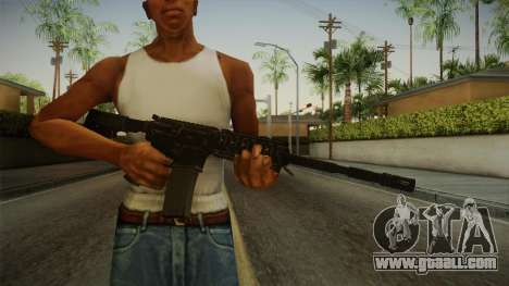CoD 4: MW - M4A1 Remastered v3 for GTA San Andreas