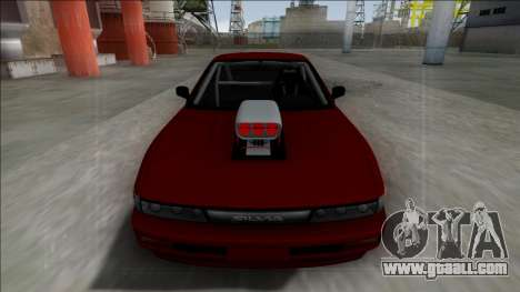 Nissan Silvia S13 Drag for GTA San Andreas back left view