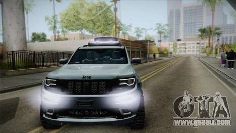 Jeep Grand Cherokee SRT Lifted for GTA San Andreas right view
