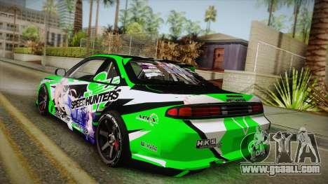 Nissan Silvia S14 Drift Speedhunters Saekano for GTA San Andreas left view